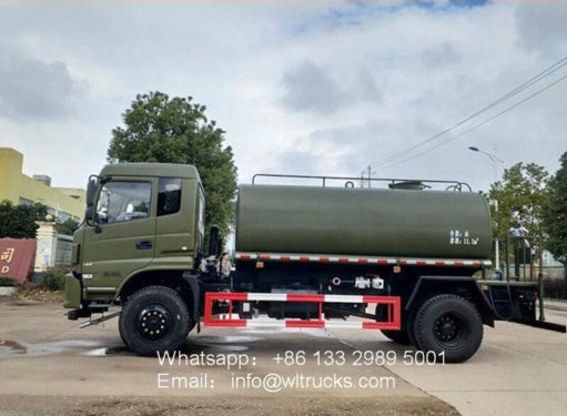 4x4 water truck