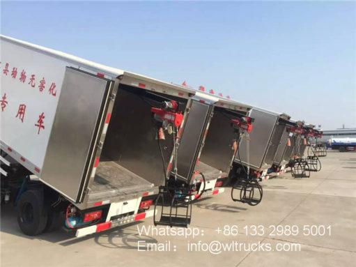 5 ton Dead animal handling truck