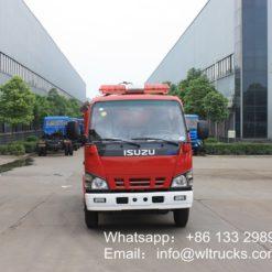 5 ton Foam fire truck