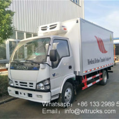 ISUZU 600p 5 ton medical waste transit vehicle