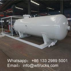 50000 liter gas station