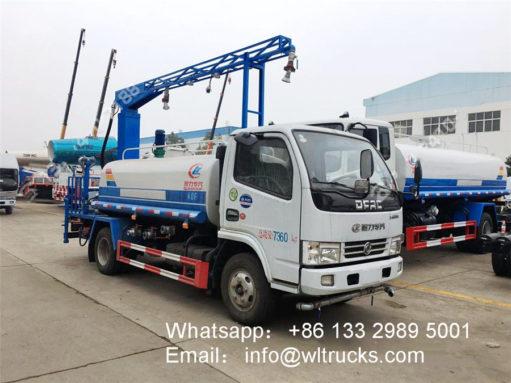 5000L fogger spray truck
