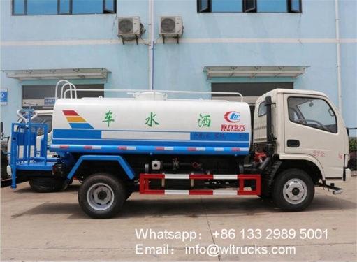5000l water tank truck