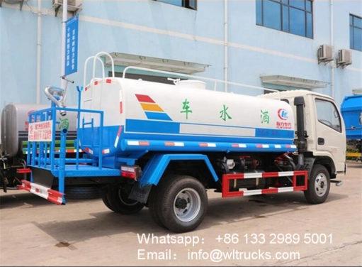 5000l water tank trucks