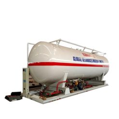 60000 liter 25 ton fuel pump lpg gas station