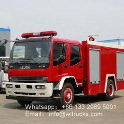 6000L Foam fire truck