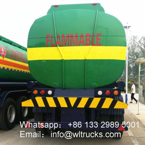 65000 liter water bowser trailer
