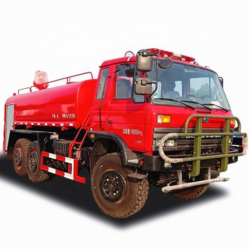 6WD Dongfeng 6x6 forest desert off-road fire truck