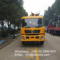 6ton to 8ton Folding Arm hydraulic crane truck