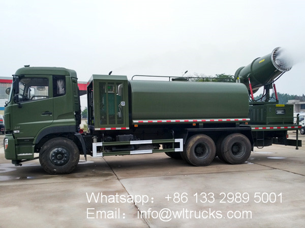 6x4 Dongfeng 16000 liter 100m disinfect truck