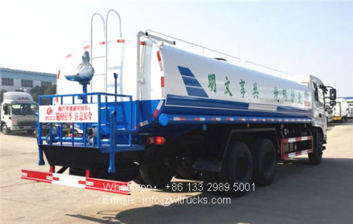 6x4 Dongfeng 25 ton water truck