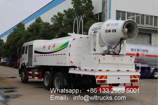 6x4 Dust suppression truck