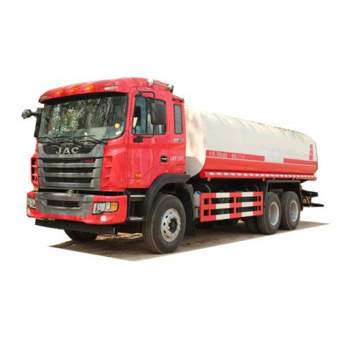 6x4 JAC 20000liters water tanker truck