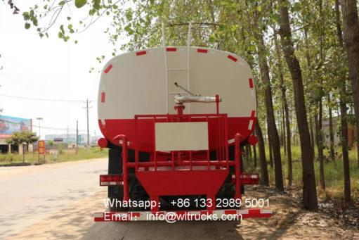 6x4 JAC 20000liters water truck
