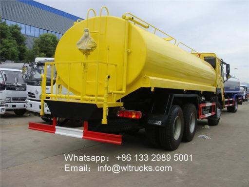 6x4 howo 18000l to 20000l water truck