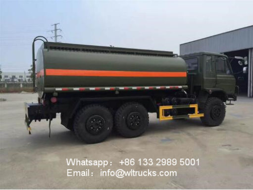 6x6 12000l to 15000l water truck