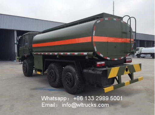 6x6 water truck