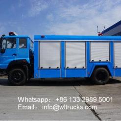8000 liter fire truck
