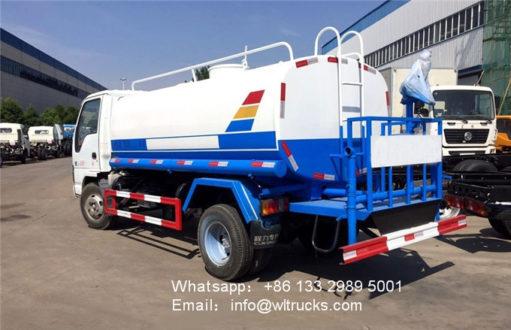 8000 liter water delivery trucks
