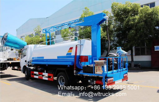 8000L Disinfectant truck