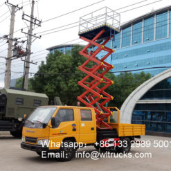 JMC 8m 10m 12m truck mounted aerial work platform