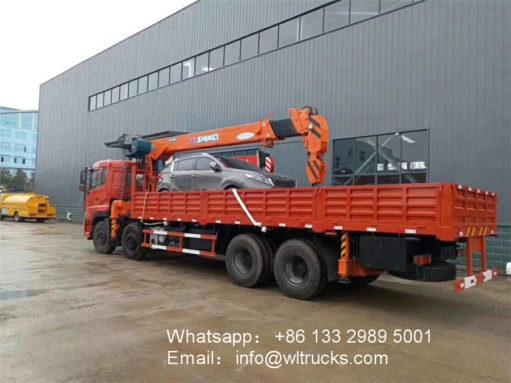 8x4 Dongfeng crane truck