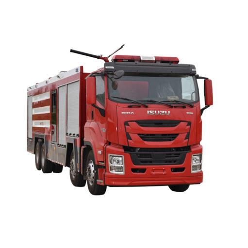 8x4 Dry powder water foam combined fire truck