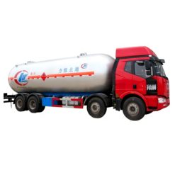 8x4 FAW 35000l mobile lpg filling truck