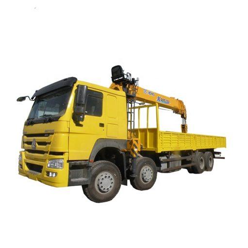 8x4 HOWO 14ton to 16ton cargo crane truck
