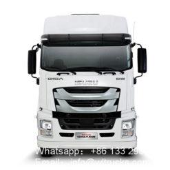 8x4 ISUZU refrigerated truck