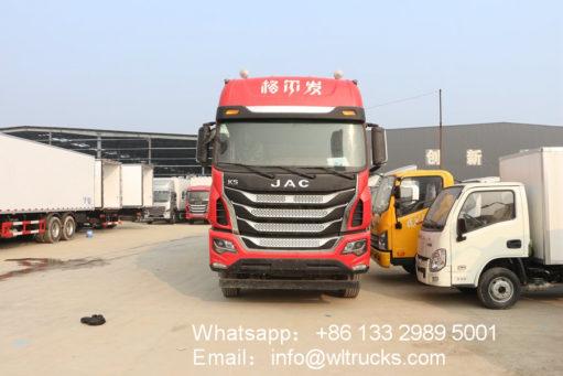 8x4 JAC refrigerator box truck
