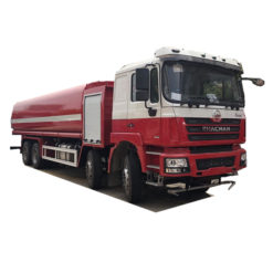8x4 Shacman 25000 liter fire water tank truck