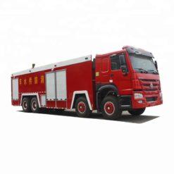 8x4 Sinotruk HOWO 25 ton water foam fire fighting truck