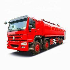 8x4 Sinotruk Howo 25000 liter fire water truck
