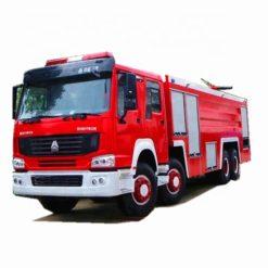 8x4 Sinotruk howo 25 ton 25000L rescue fire truck