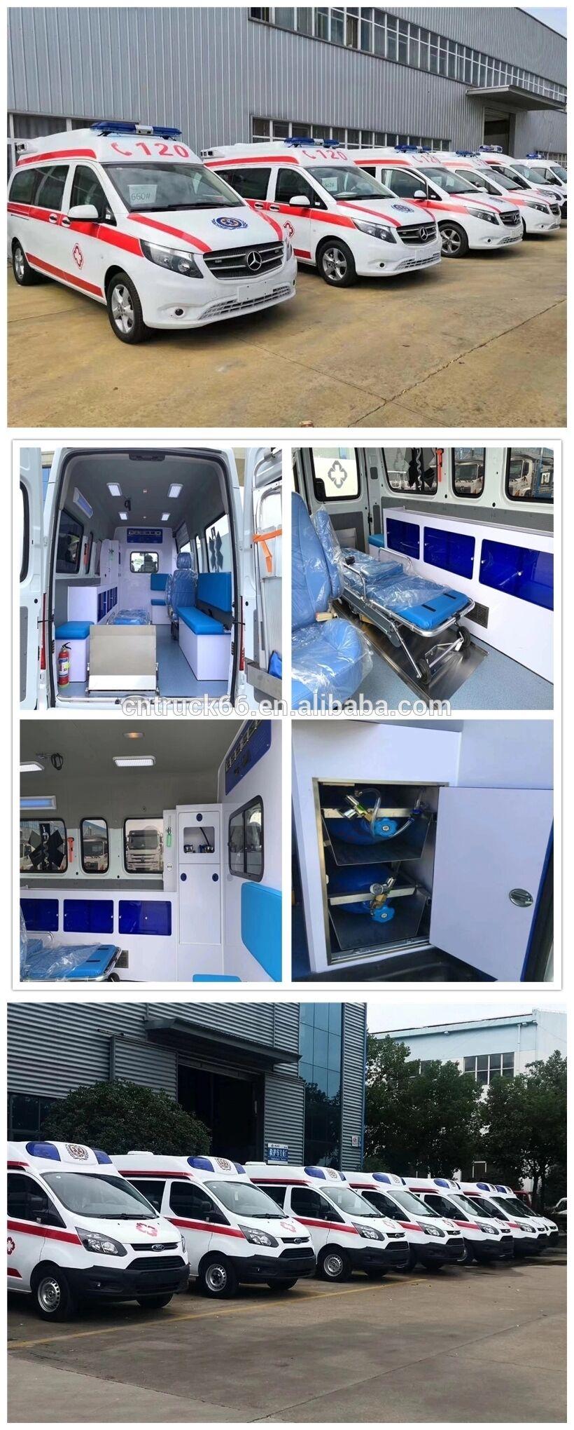 Ambulance car details