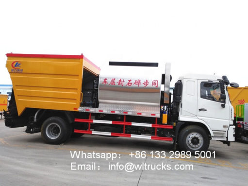 Dongfeng 15 ton Asphalt gravel sealer truck