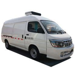 Brilliance Jinbei small 5m3 mobile freezer truck