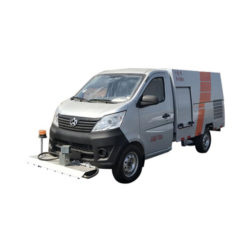 Changan mini 1500L street bin cleaning truck