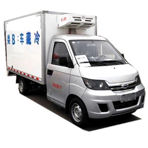 Chery Karry 1 ton mini refrigerator van truck