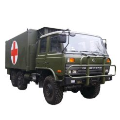 China Dongfeng 6x6 left or Right hand drive military ambulance