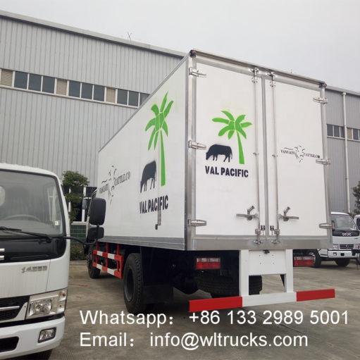 DFAC 10 ton to 15ton freezer refrigerated truck