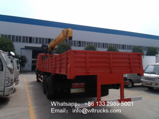 DFAC 10ton to 12ton mobile crane truck
