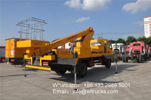 DFAC 18 meter to 20 meter aerial platform truck