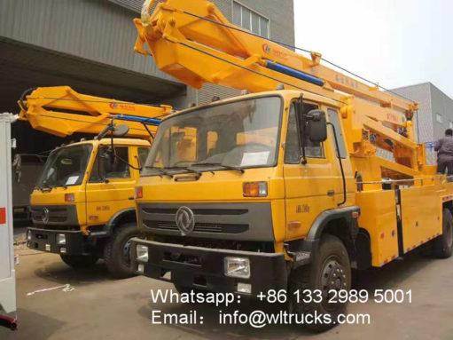 DFAC aerial platform rescue truck