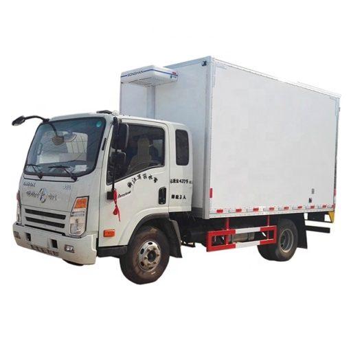 Dayun 3 ton ice cream freezer truck