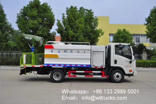 Dayun 5 ton 30 meters Disinfection spray truck