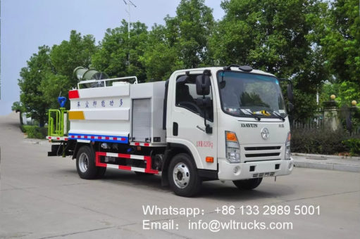 Dayun 5 ton 40 meters Disinfection spray truck