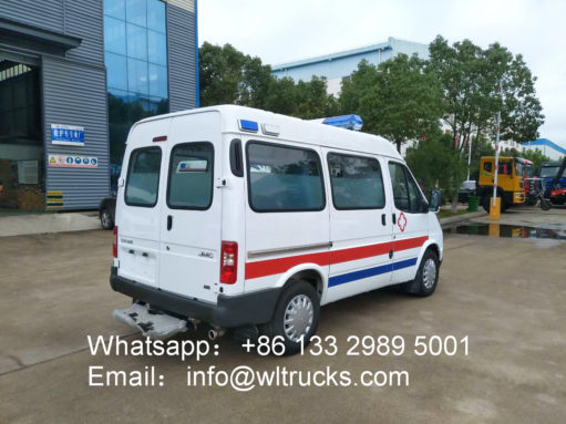 Diesel Ambulance vehicle