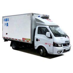 Dongfeng 1.5 ton refrigerator freezer truck